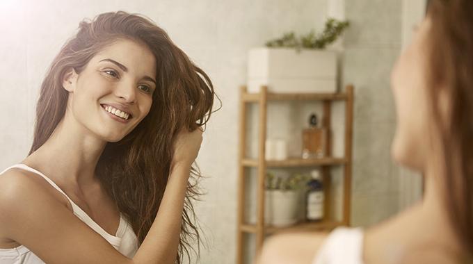 Hausmittel als haarpflege